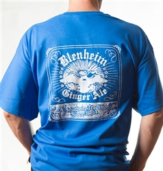 Blenheim Ultra Cotton Blue T-Shirt